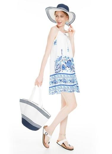 Lela Elbise Beyaz